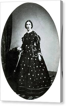 First Ladies Canvas Print - Margaret Taylor, First Lady by Science Source