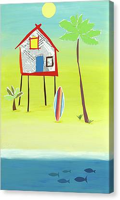 Margarita Villa Canvas Print by Jennifer Peck
