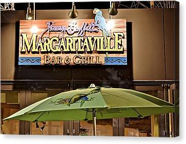Margaritaville Canvas Print by Frozen in Time Fine Art Photography