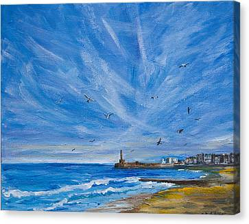 Margate Skies Canvas Print
