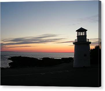 Marginal Way Canvas Print by Joy Bradley