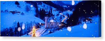 Blend Canvas Print - Maria Gern Church Berchtesgaden Bavaria by Panoramic Images