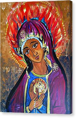 Maria Of Pentecost Canvas Print