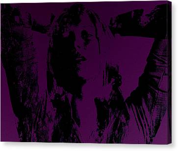 Maria Sharapova Feeling It Canvas Print by Brian Reaves