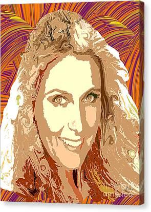 Maria Sharapova Canvas Print - Maria Sharapova Tennis by Dalon Ryan