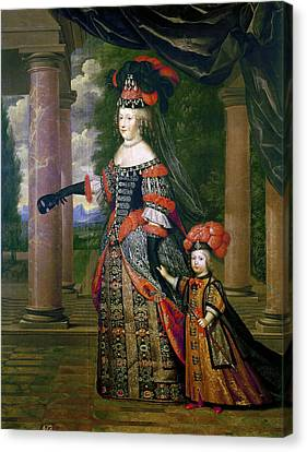 Maria Theresa Of Spain (1638-1683) Canvas Print
