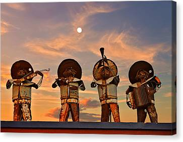 Mariachi Band Canvas Print
