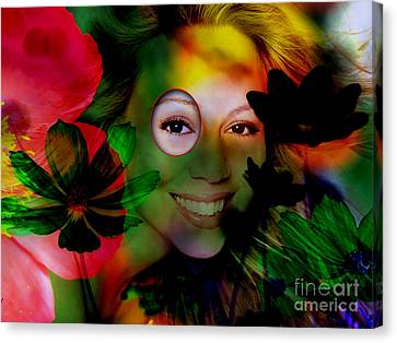 Mariah Carey Canvas Print