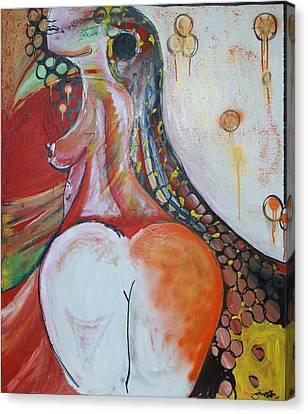 Marias Bedroom Canvas Print by Sanne Rosenmay