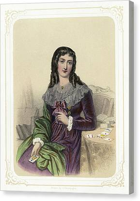 Marie Anne Lenormand (1772-1843) Canvas Print by Granger