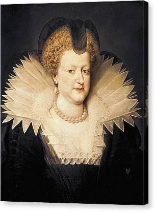 Marie De Medicis 1573-1642. Queen Canvas Print by Everett