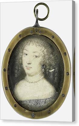 Marie De Rabutin-chantal Sévigné, Marquise De Canvas Print by Litz Collection