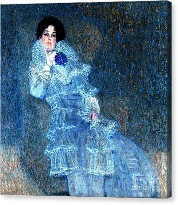 Marie Henneberg Canvas Print by Pg Reproductions