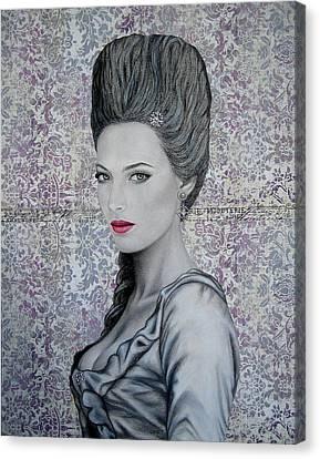 Marie Canvas Print by Lynet McDonald