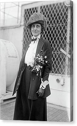 Marie Mattingly Meloney (1878-1943) Canvas Print by Granger