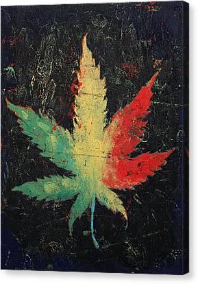Marijuana Canvas Print by Michael Creese