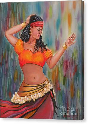 Marika The Gypsy Dancer Canvas Print