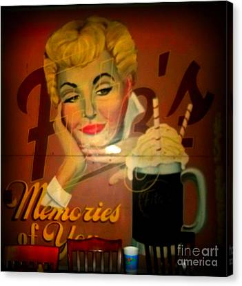 Marilyn And Fitz's Canvas Print by Kelly Awad