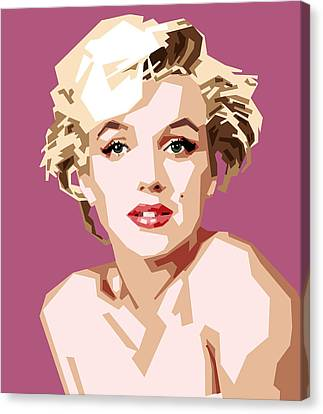 Marilyn Canvas Print by Douglas Simonson