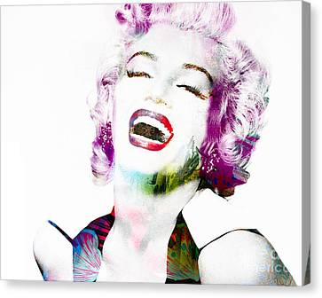 Marilyn Canvas Print by Gillian Singleton