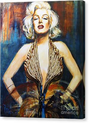Marilyn Canvas Print by Ira Ivanova
