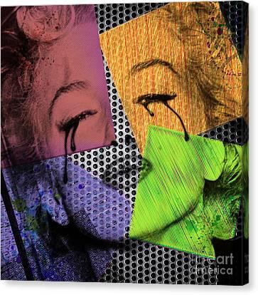 Marilyn Canvas Print by Mark Ashkenazi