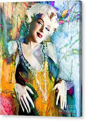 Marilyn Monroe 126 E Canvas Print by Theo Danella