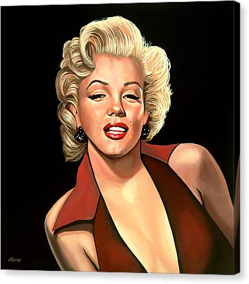 Marilyn Monroe 4 Canvas Print