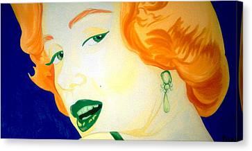 Marilyn Monroe Canvas Print - Marilyn Monroe by Holly Picano