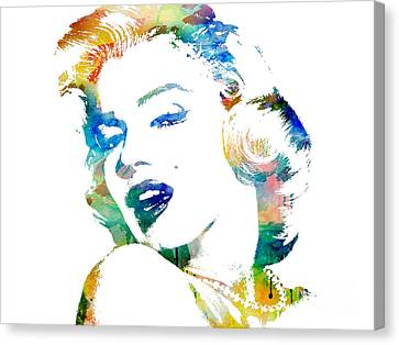 Marilyn Monroe Canvas Print by Mike Maher