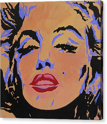 Canvas Print - Marilyn Monroe-sultry by Bill Manson