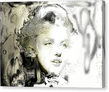 Marilyn Monroe T Canvas Print