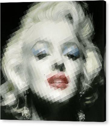 Marilyn Monroe Canvas Print by Tony Rubino