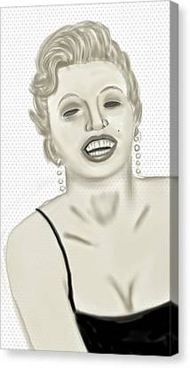 Marilyn  Canvas Print by Pat Carafa