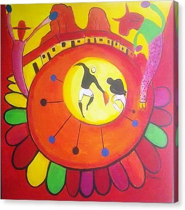 Marimbona Canvas Print by Jose jackson Guadamuz guadamuz