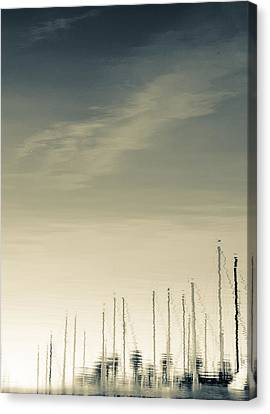 Canvas Print featuring the photograph Marina by Kevin Bergen