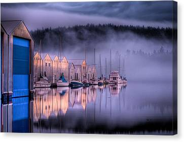 Canvas Print - Marina Morning by Ruppenthal