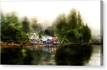 Marina Retreat Canvas Print