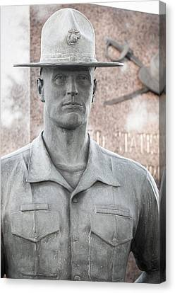 Marine Drill Instructor Canvas Print