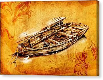 Marine Sea 01 Canvas Print by Rafal Kulik