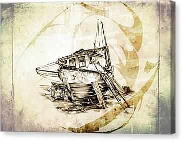 Marine Sea 02 Canvas Print by Rafal Kulik