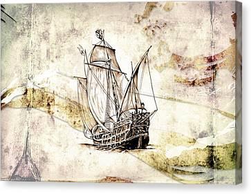 Marine Sea 03 Canvas Print by Rafal Kulik