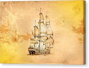 Marine Sea 04 Canvas Print by Rafal Kulik