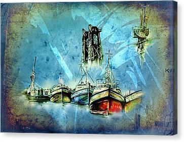 Marine Sea 29 Canvas Print by Rafal Kulik