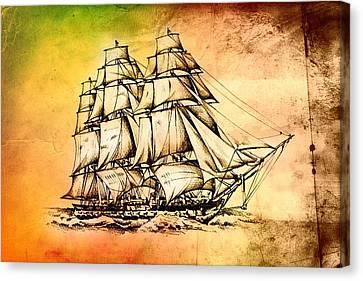 Marine Sea 36 Canvas Print by Rafal Kulik