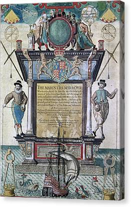 Mariners Mirror, 1588 Canvas Print by Granger