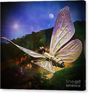 Mariposa Galactica Canvas Print