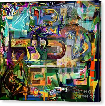 Marital Harmony 54 Canvas Print by David Baruch Wolk