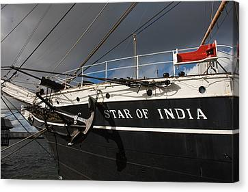 Maritime Museum On A Ship, Star Canvas Print