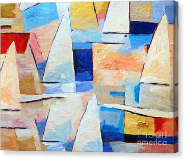 Maritime Regatta Canvas Print by Lutz Baar